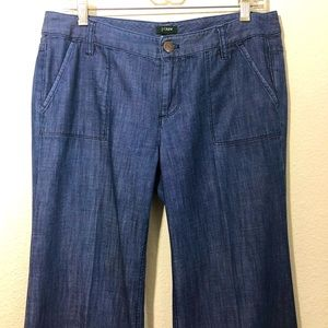 J CREW Sz 6 City Fit Jeans.